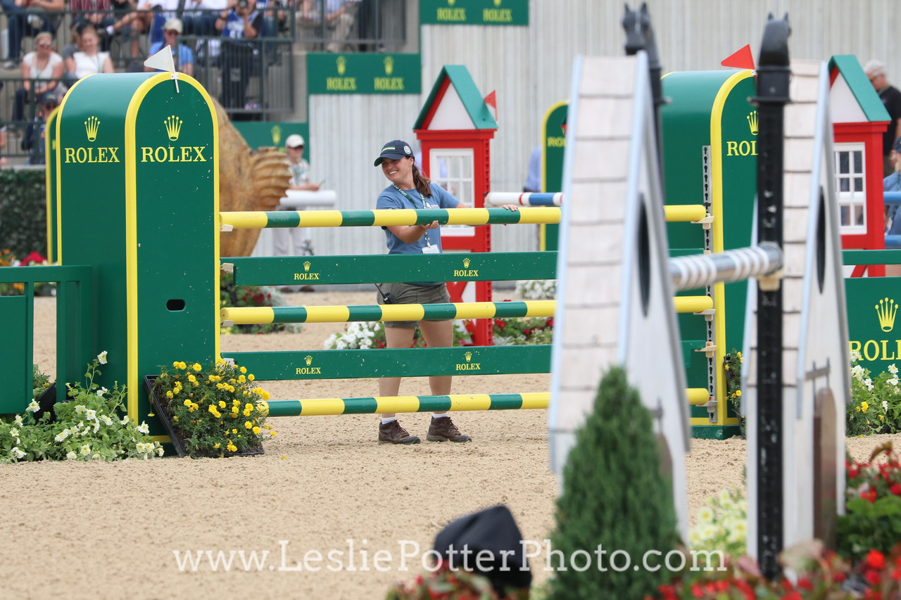 Stadium jumping at the 2017 Rolex Kentucky Three-Day Event