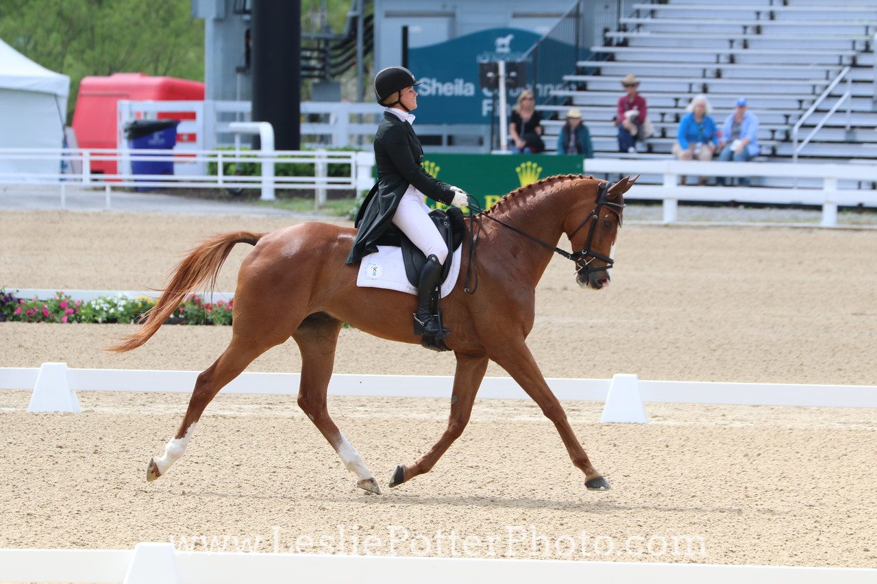 Katie Ruppel and Houdini