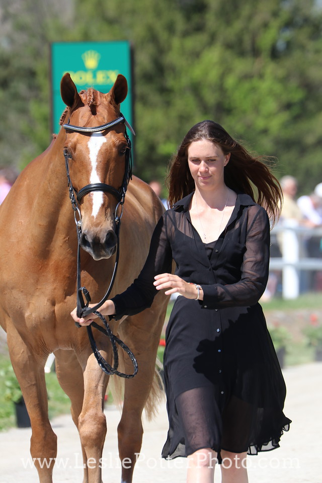 Caroline Martin and Spring Easy
