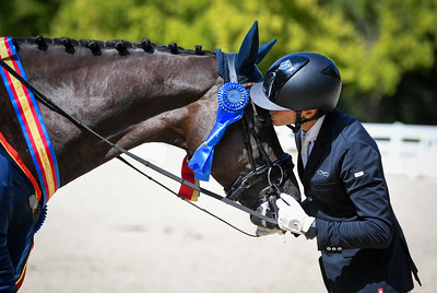 Pablo Gomez and Easy Di Fonteabeti Ymas during the Five-Year-Old Final at Festival of Champions.