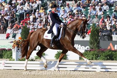 Laura Bechtolscheimer and Mistral Horjis at the 2010 Alltech FEI World Equestrian Games