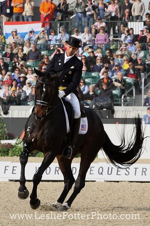 Ravel and Steffen Peters at the 2010 Alltech FEI World Equestrian Games