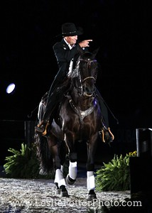 Eitan Beth-Halachmy and Santa Fe Renegade at the Opening Ceremonies of the 2010 Alltech FEI World Equestrian Games.