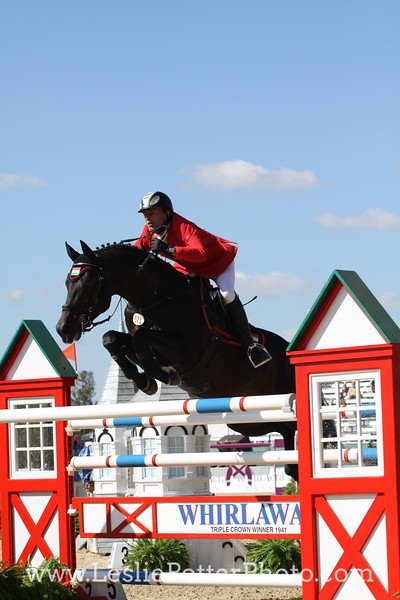 Show jumping at the 2010 Alltech FEI World Equestrian Games