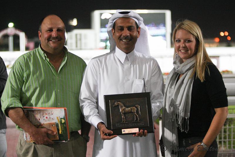 Al Shahania wins WAHO Trohpy