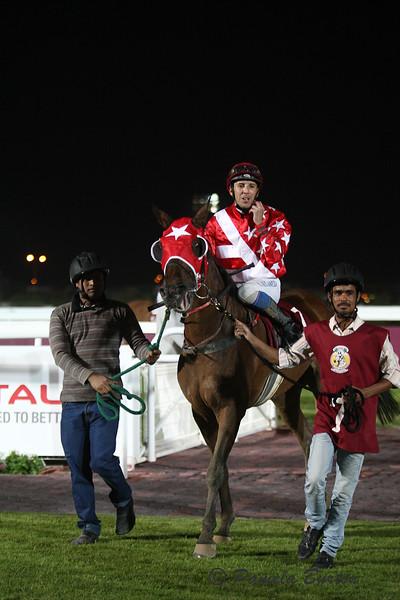 Mowhoubat Al Zaidy , winner of P/A Maiden 1800m
