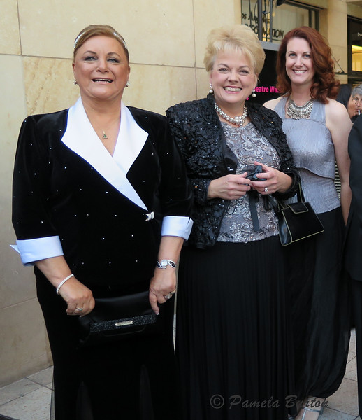 Sue Meyere, Debbie Fuentes, Michele Fischer, Peter & Genny Haynes,  John Elliot  (UK)at Dolby Theatre.