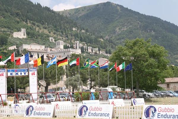 The ancient town of Gubbio 2008 endurance CEIO 3***.