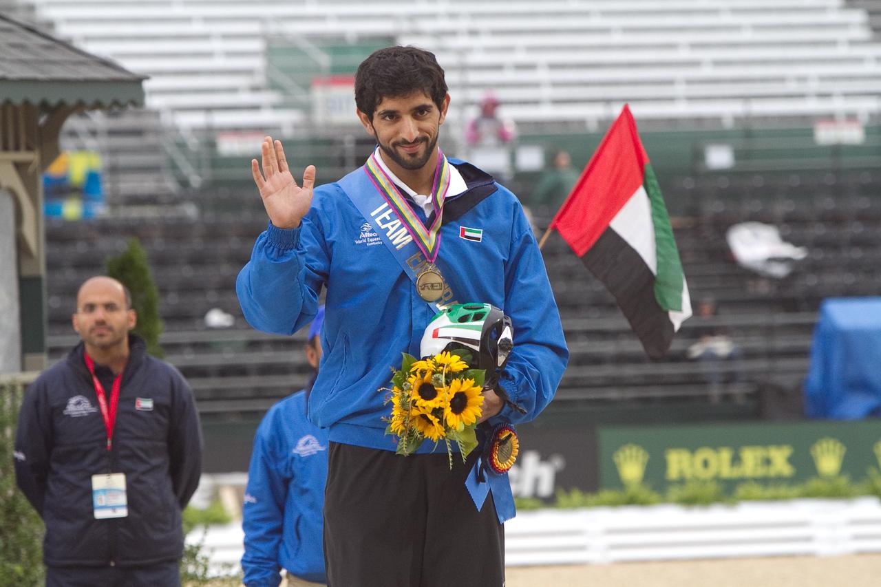 Bronze Medal HE Sheikh Hamdan bin Mohd Al Maktoum, UAE