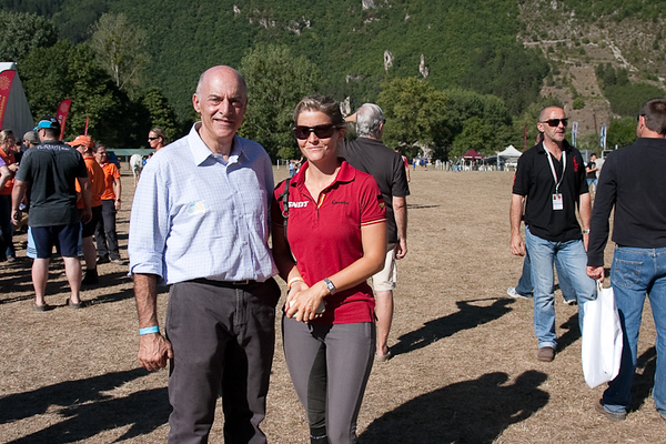 Jean Louis LeClerc, Endurance Trainer for Germany for the Euro Champs with Sabrina Arnold