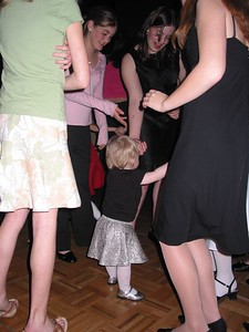 Tori dances with the big girls