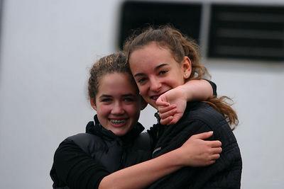 Emma and Alexandra