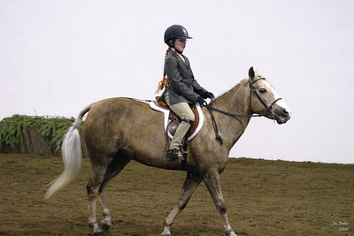 Natalie and Mattie in the Under-Saddle class.