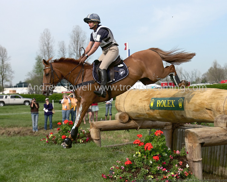 "Images of Karen O'Connor and Theodore O'Conner at the 2007 and 2008 Rolex Three Day Event can be found here  <a href=""http://www.troutstreaming.com/gallery/4597683_X9UAj#284623587_pSLfW"">http://www.troutstreaming.com/gallery/4597683_X9UAj#284623587_pSLfW</a>   and here:  <a href=""http://www.troutstreaming.com/gallery/2760077_pXrq8#151206620_pAaBQ"">http://www.troutstreaming.com/gallery/2760077_pXrq8#151206620_pAaBQ</a>"