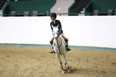 Childrens Hunter Pony Warm up-1409