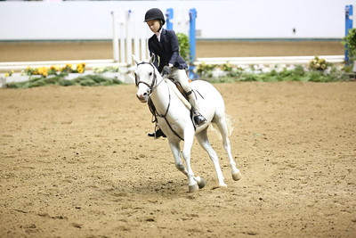 Childrens Hunter Pony Warm up-1411