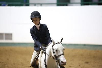 Childrens Hunter Pony Warm up-1422