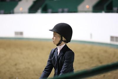 Childrens Hunter Pony Warm up-1405