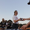 Georgia's Equestrian team recieves their SEC Championship rings after their team scrimmage at the UGA Equestrian Complex in Bishop, Georgia on Friday, Sept. 22, 2017. (Photo by Steffenie Burns}