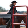 Georgia's Claudia Spreng rides Molli during the Bulldog's competition with Alabama at the UGA Equestrian Complex on Sunday, October 2, 2016 in Bishop, Georgia. (Photo by Cory A. Cole)