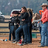 Members of the Georgia Equestrian team during the Bulldogs' meet with Auburn at the UGA Equestrian Complex in Bishop, Ga., on Friday, Nov. 11, 2016. (Photo by John Paul Van Wert)