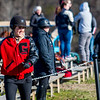 A member of the Georgia equestrian team during the Bulldogs' competition with Delaware State at the UGA Equestrian Complex in Bishop, Ga., on Saturday, February 4, 2017. (Photo by John Paul Van Wert)