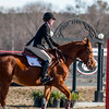 Georgia's Meg O'Mara during the Bulldogs' competition with Delaware State at the UGA Equestrian Complex in Bishop, Ga., on Saturday, February 4, 2017. (Photo by John Paul Van Wert)