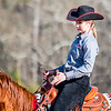 Georgia's Annabeth Payne during the Bulldogs' competition with Delaware State at the UGA Equestrian Complex in Bishop, Ga., on Saturday, February 4, 2017. (Photo by John Paul Van Wert)