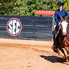 Members of the Tennessee-Martin Equestrian team during the Bulldogs' meet with Tennessee-Martin at the UGA Equestrian Complex in Bishop, Ga., on Saturday, Oct. 22, 2016. (Photo by John Paul Van Wert)