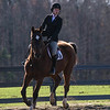 Georgia's Sydney Hutchins with Lola during the Bulldogs' meet against Texas A&M at the UGA Equestrian Complex in Bishop, Georgia on Saturday, February 25, 2017. (Photo by Cory Cole)