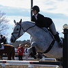Georgia's Emma Schauder with Riant during the Bulldogs' meet against Texas A&M at the UGA Equestrian Complex in Bishop, Georgia on Saturday, February 25, 2017. (Photo by Cory Cole)