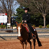 Georgia's Anna Hutlas with Tuffy during the Bulldogs' meet against Texas A&M at the UGA Equestrian Complex in Bishop, Georgia on Saturday, February 25, 2017. (Photo by Cory Cole)