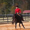 Members of the UGA Equestrian team during the Bulldogs' meet with South Carolina at the UGA Equestrian Complex in Bishop, Ga., on Friday, Nov. 3, 2017. (Photo by Steffenie Burns)