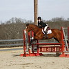 Georgia riders during their meet against Converse College at teh UGA Equestrian Complex in Bishop, Ga., on Friday, Jan. 26, 2018. (Photo by Steffenie Burns)