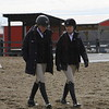 Georgia riders during their meet against Sweet Briar College at the UGA Equestrian Complex in Bishop, Ga., on Saturday, Feb. 3, 2018. (Photo by Steffenie Burns)