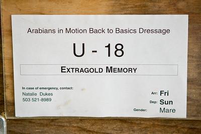 Stall card.
