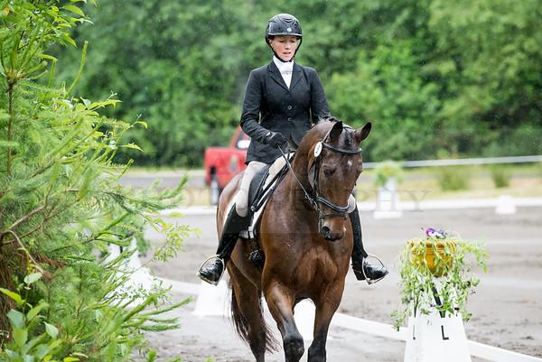 Aspen Farms Horse Trials-Day 1-Dressage 2014