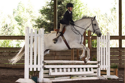 Devon on Highland Fling (Phoebe).