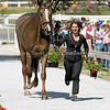Images of Gina Miles on McKinlaigh from the 2008 Rolex Three-Day Event at the Kentucky Horse Park in Lexington Kentucky. From Troutstreaming Outdoor and Sports Media's on location coverage. All content Copyright 2008 J Andrew  Towell Troutstreaming.