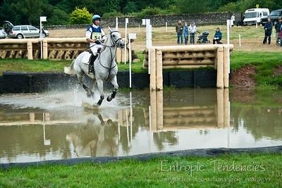 Thirlstane Horse Trials 2006 - Cross-country water jump