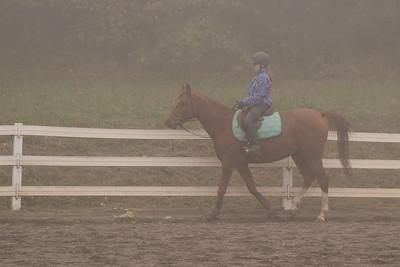Foggy Oregon ride.