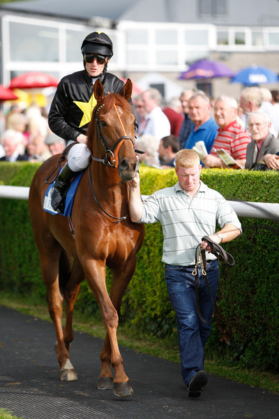 Champion Jockey Johnny Murtagh at Tipperary Races,