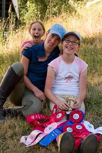 Madie, Elise and Natalie.