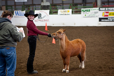 Audrey and DJ in Showmanship.