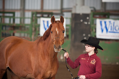 Memo and Natalie in showmanship.