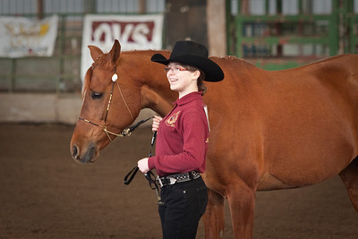 Natalie and Memo in Showmanship