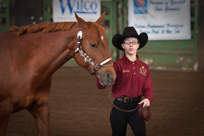 Emily and Tucker in Showmanship