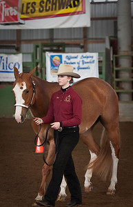 Beth and Tess in Showmanship.
