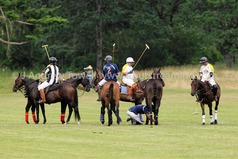 130707 Tacoma Polo Club Independence Cup Sunday Four Goal Blue versus White