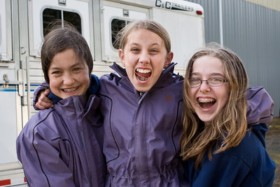 Cassie, Madie and Natalie